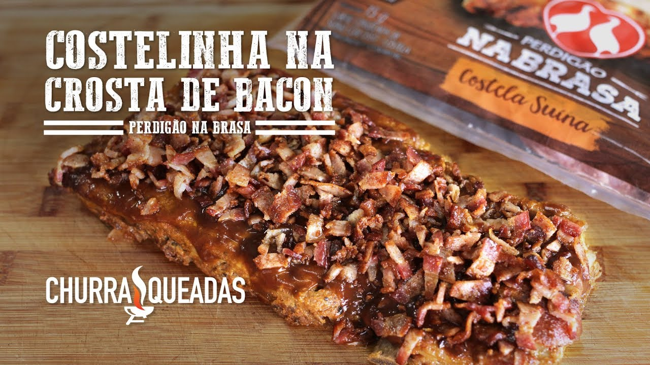 Costelinha na Crosta de Bacon